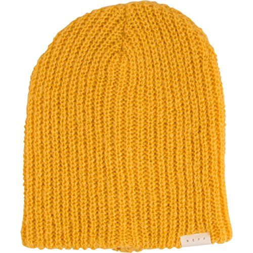 Neff Women Brie Beanie Hat One Size Gold *** Details can be found by clicking on the image.