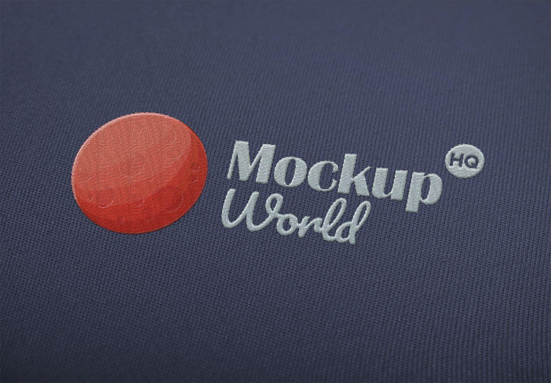 Download Embroidered Logo Mockup Logo Mockup Mockup Embroidered