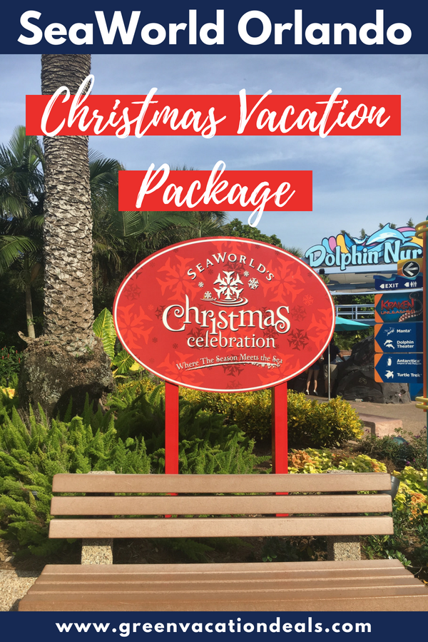 Christmas Vacation Deals 2020 Book a SeaWorld Orlando Christmas Celebration Package to save