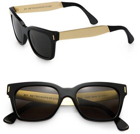 c7a0a95e616b Fancy - Super By Retrosuperfuture® Francis America Sunglasses in for Men  (black) | Lyst