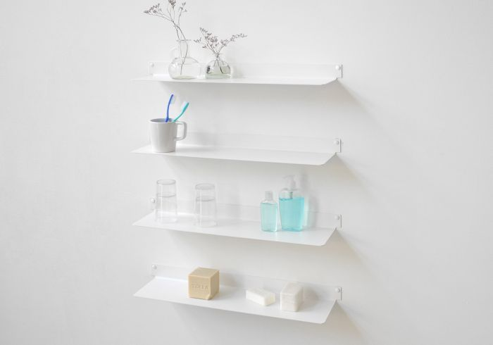 Floating Bathroom Shelves Teeline Set Of 4 Teebooks Shelves Bathroom Shelves Wall Shelves