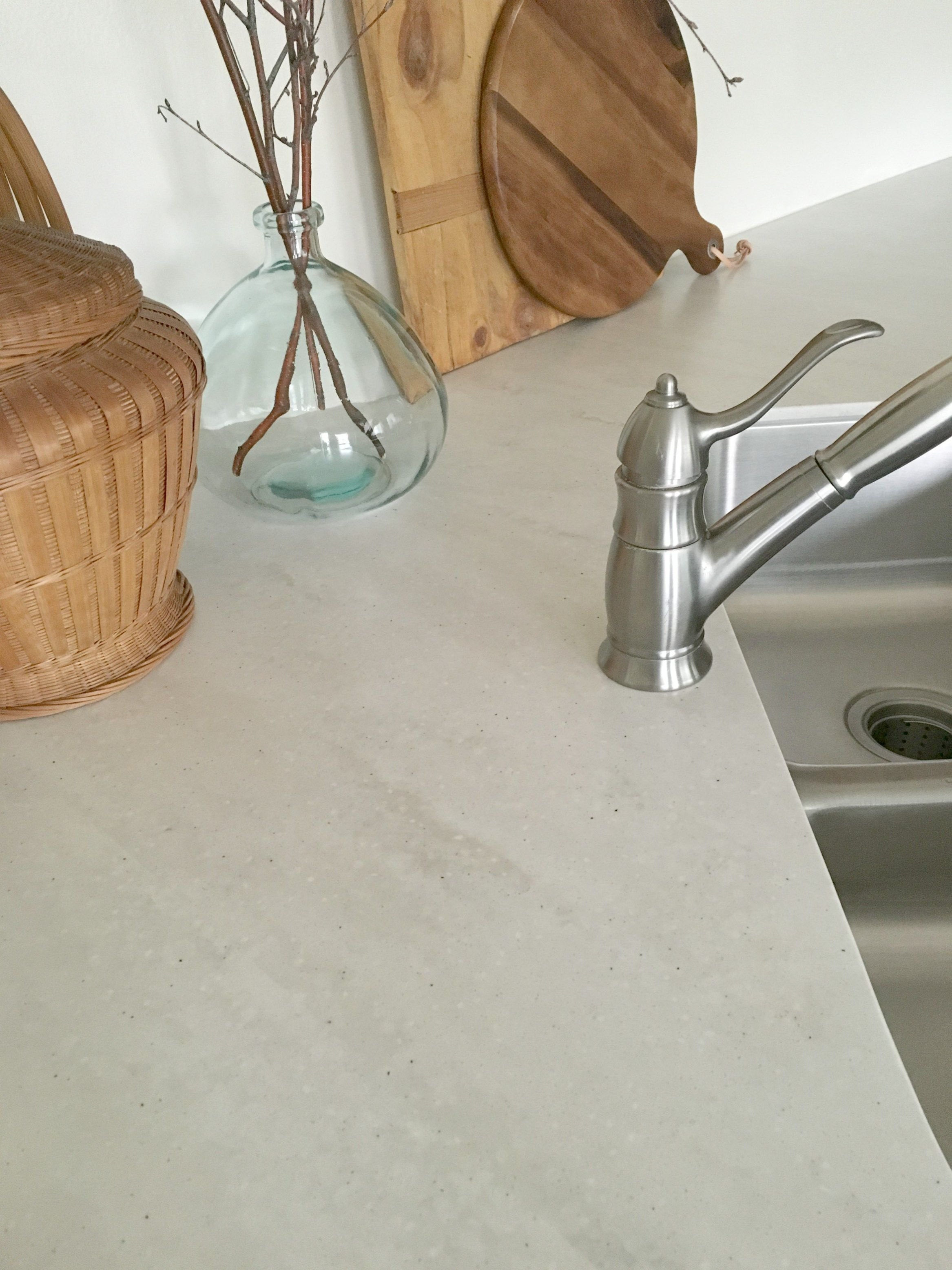 Allen Roth Solid Surface Countertop Review Honey N Hydrangea Countertops Solid Surface Countertops Kitchen Kitchen Countertops
