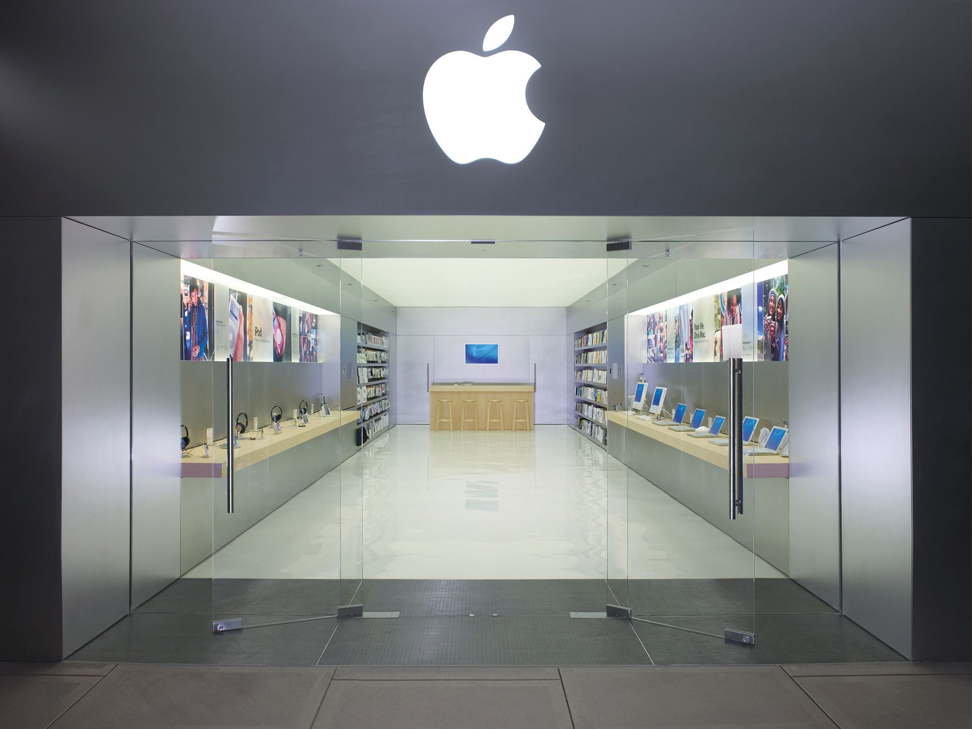 Marxism Is Also Critical Of A Small Number Of Media Organizations Dominating The Media In Revenue Apple Is One Of T Apple Store Design Store Design Mini Store