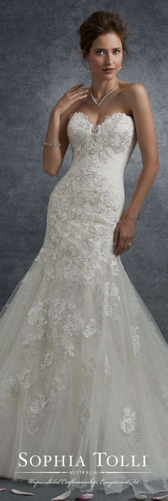 Nice dresses for wedding  Wedding Dress Inspiration  Sophia Tolli  Dress ideas Wedding