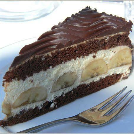 Bananentorte 3 8 5 Rezept Kuchen Und Torten Rezepte Kuchen Und Torten Und Kuchen Rezepte
