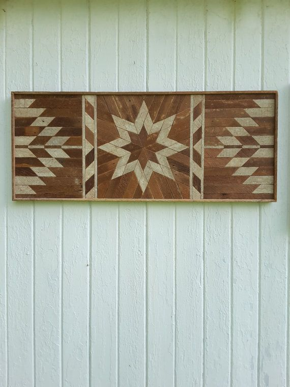 Reclaimed Wood Wall Art Lath Art Twin By PastReclaimed On Etsy
