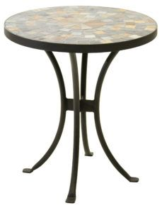 Small Mosaic Outdoor Side Table