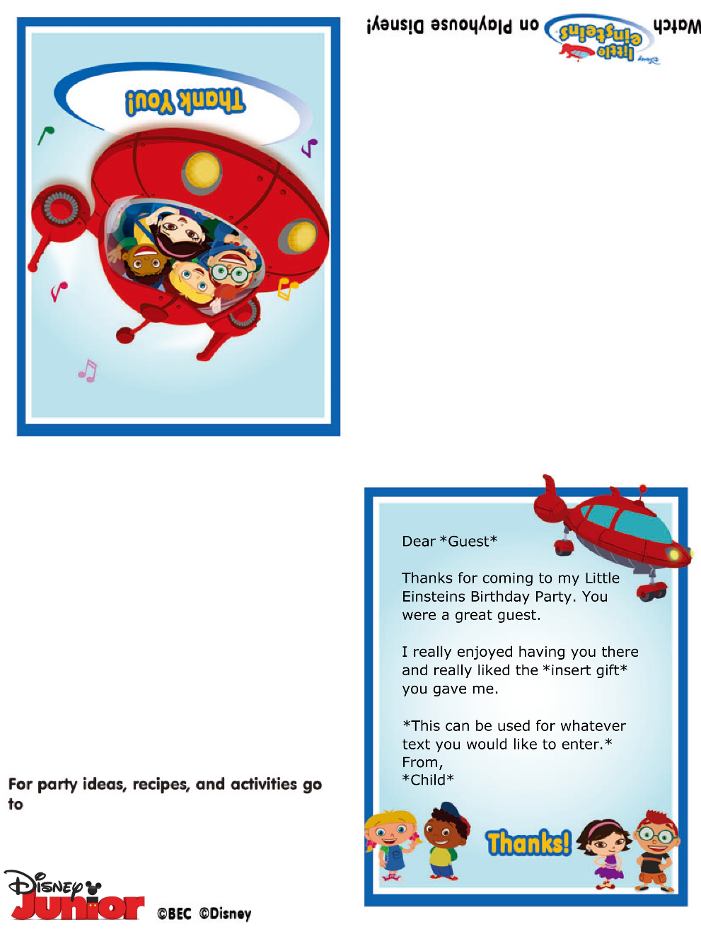 http://disneyjunior.disney.co.th/little-einsteins-thank-you-notes ...