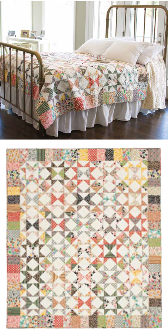 free pattern = Starring Repros star quilt at McCall's Quilting ... : mccalls quilt blocks - Adamdwight.com