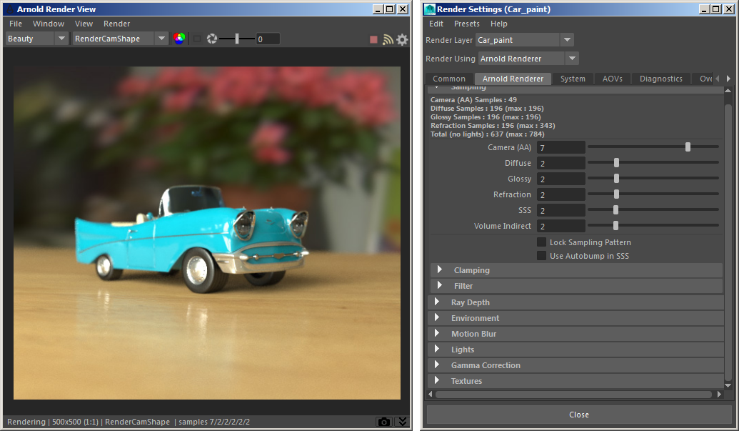 Setting Up The Final Render - Arnold for Maya User Guide