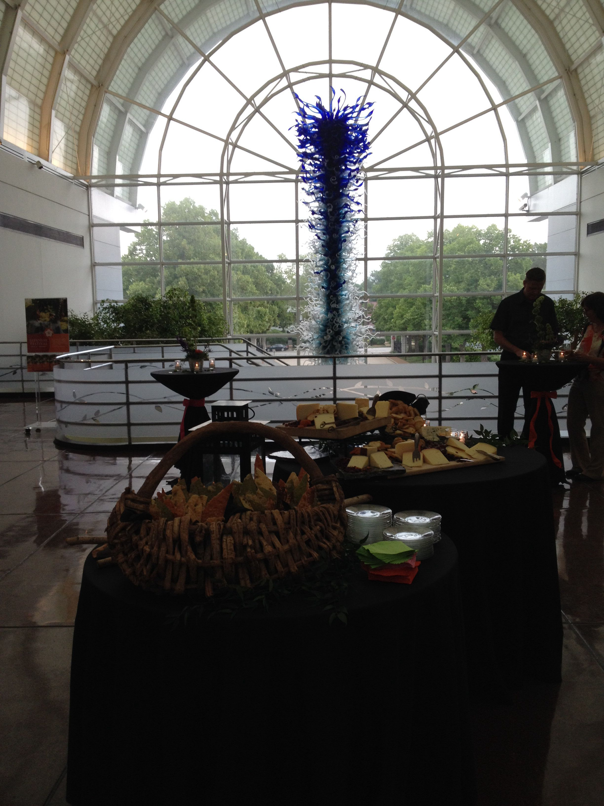 Amazing event at the Missouri Botanical Garden Cocktails