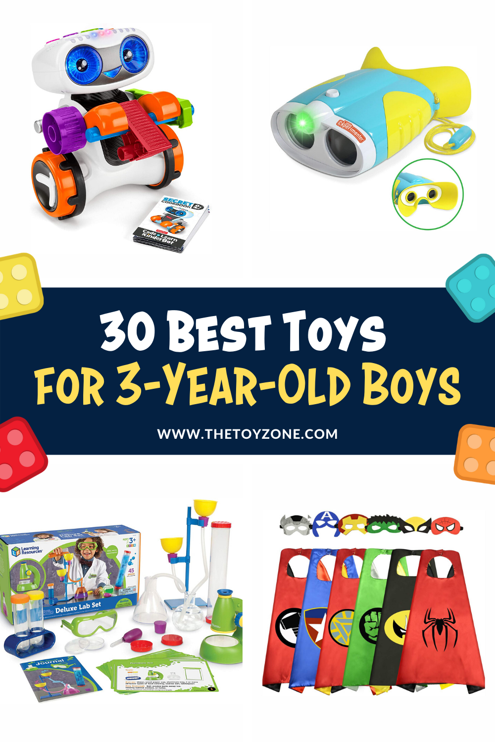 30 Best Toys for 3-Year-Old Boys in 2020 - TheToyZone in ...