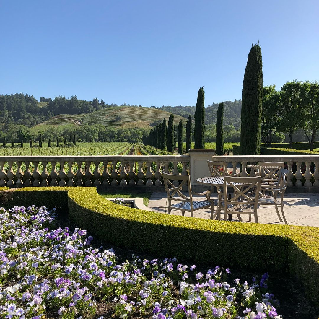 We recently spent a relaxing afternoon at Ferrari,Carano