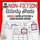 Nonfiction Activity Sheets