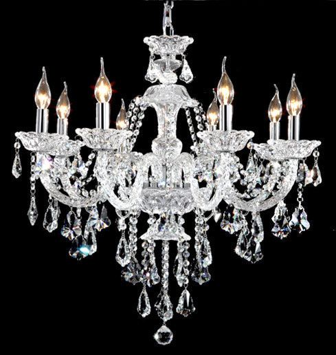 Luxury Crystal Chandelier Montreal Dining Room For