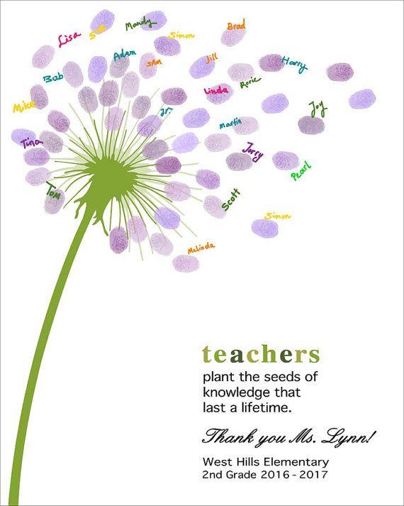 Ende des Jahres Lehrer Geschenk personalisierte Lehrer | Etsy