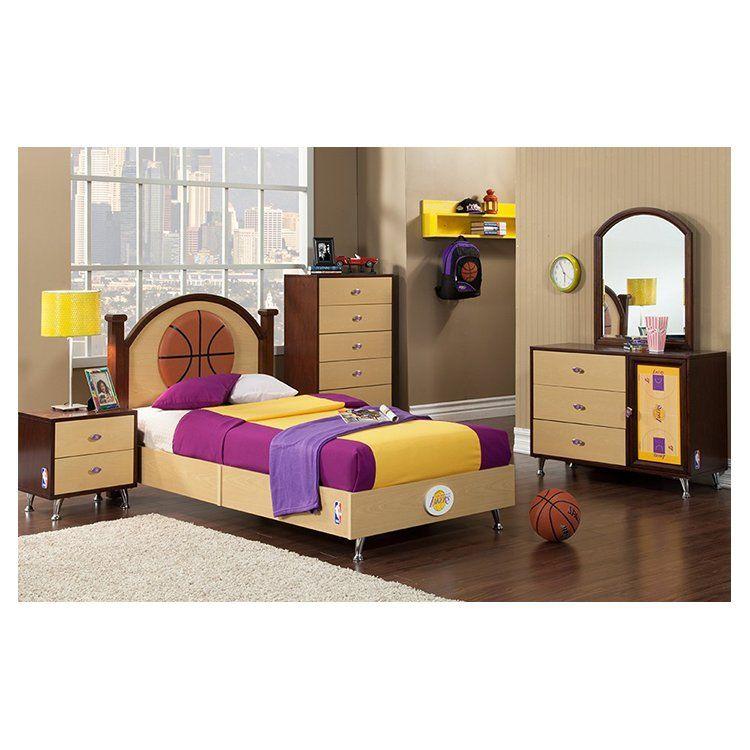Nba Twin Platform Bed Bed Furniture Set Modern Bedroom