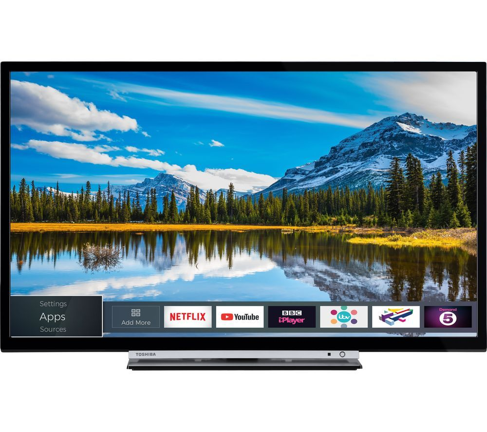 Buy Toshiba 40l3863db 40 Smart Led Tv Free Delivery Currys