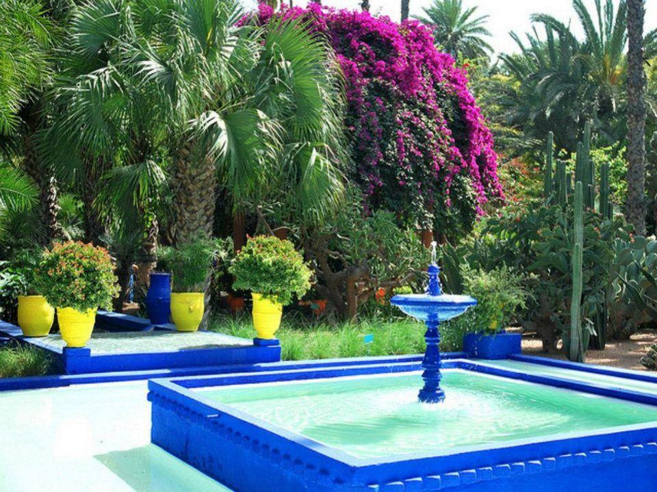 Jardin Majorelle Marruecos Jardines Paradiciacos Marrakech