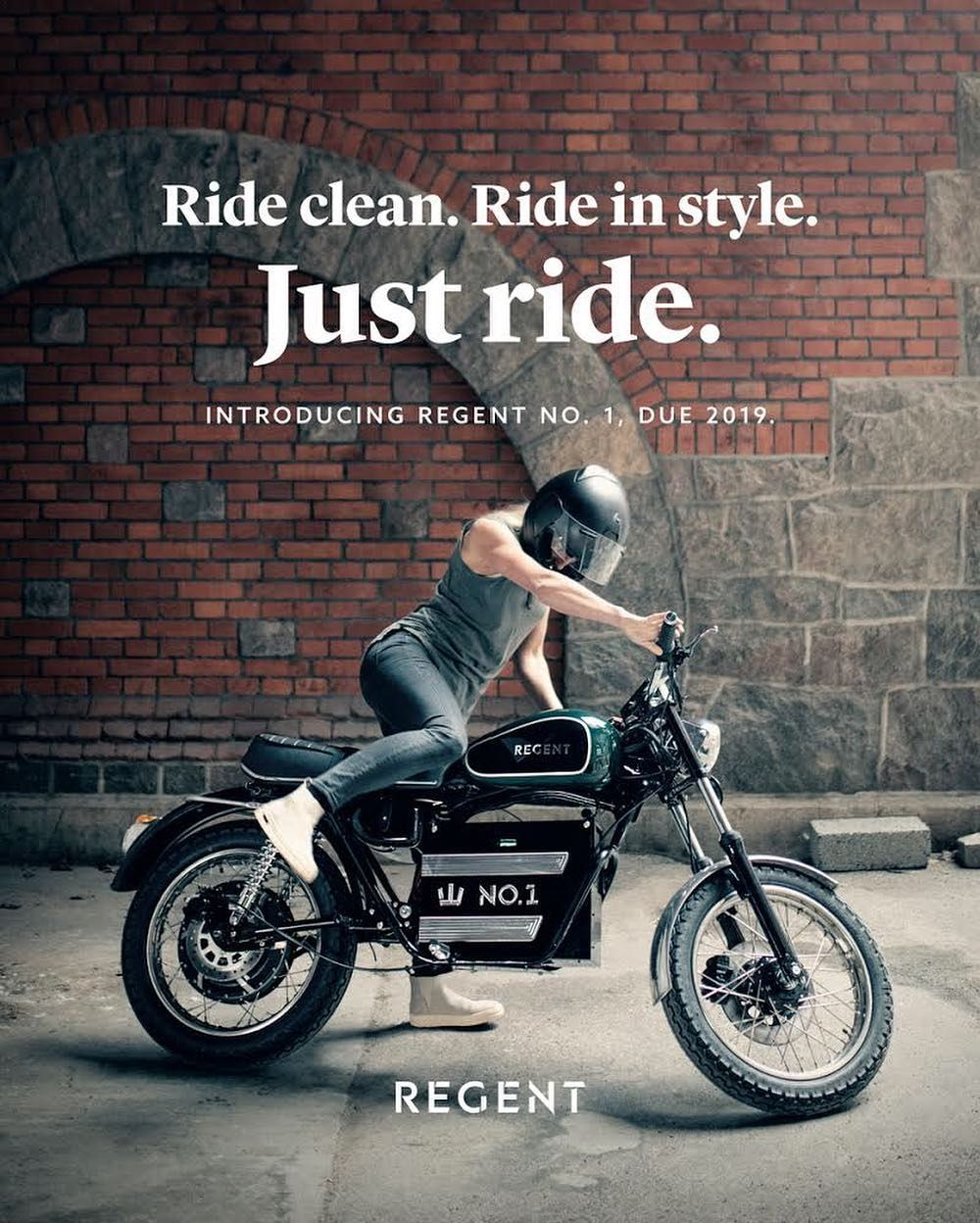 Regent Motorcycles Are Old School Electric Motorbike Company From