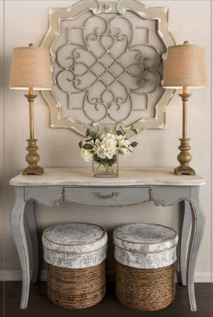 French Country Console Table Home Decor Decor Home Decor Accessories