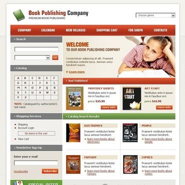 website template publisher