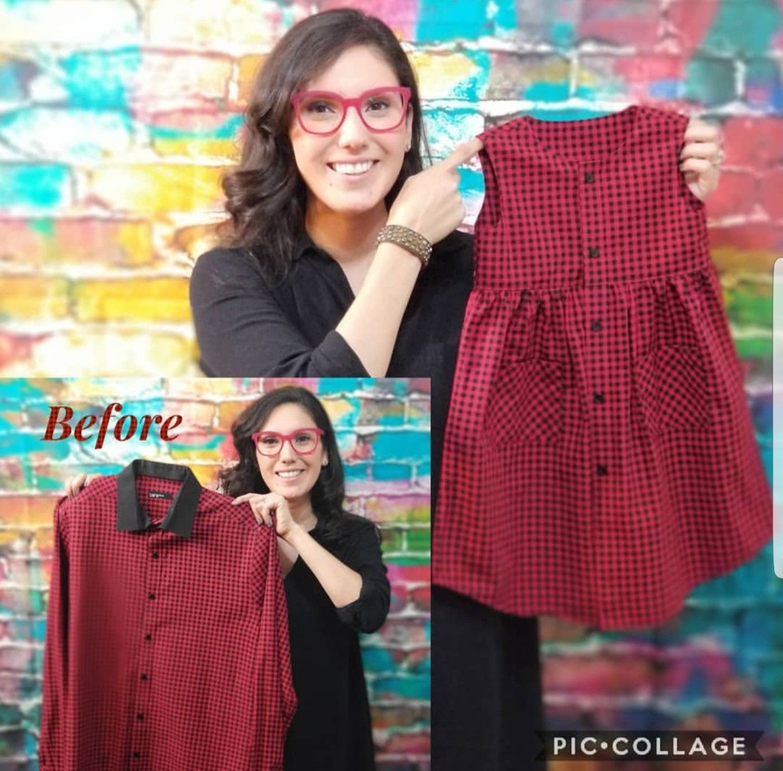 Chemise habillée pour hommes bricolage   – Geri dönüşüm
