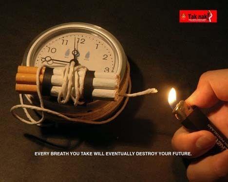 Publicidad para dejar de fumar | Anfetaminico