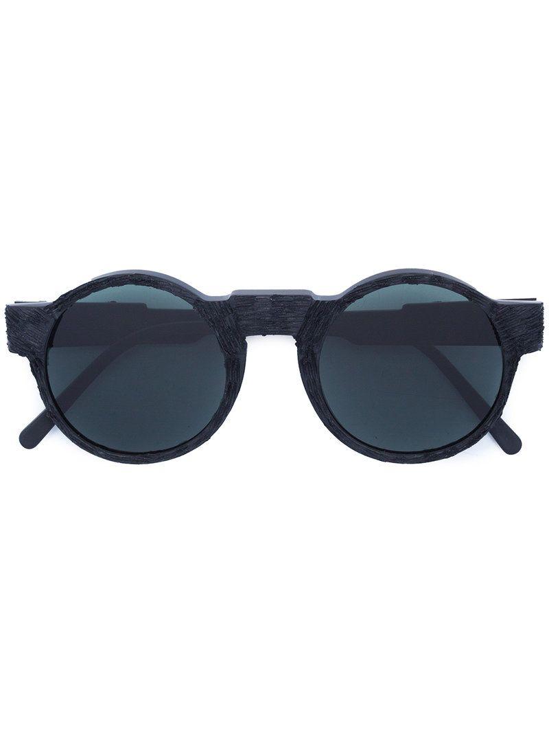round frame sunglasses - Grey Kuboraum xgR7UdvS