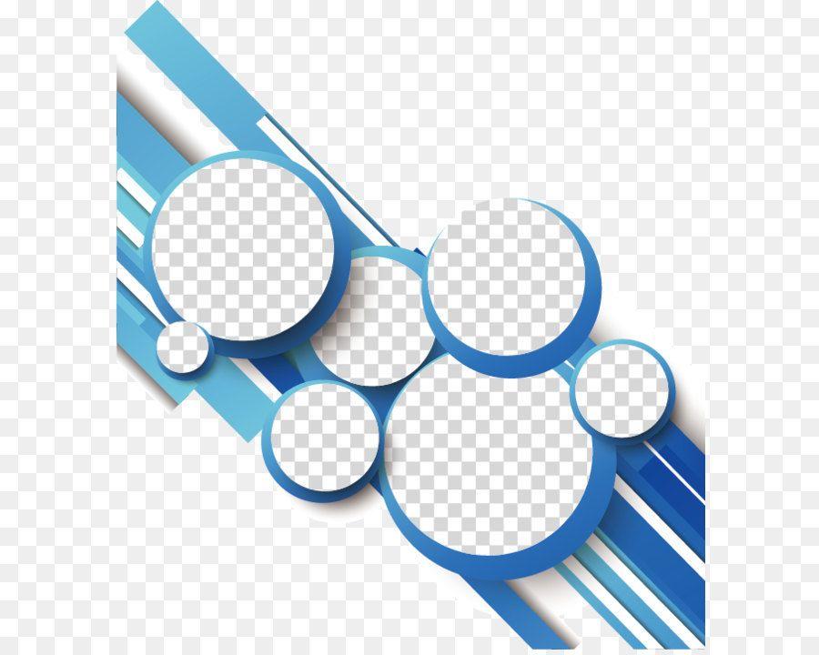 3e60375ae9a44 Moderna forma ondulada de color azul Vector Gratis