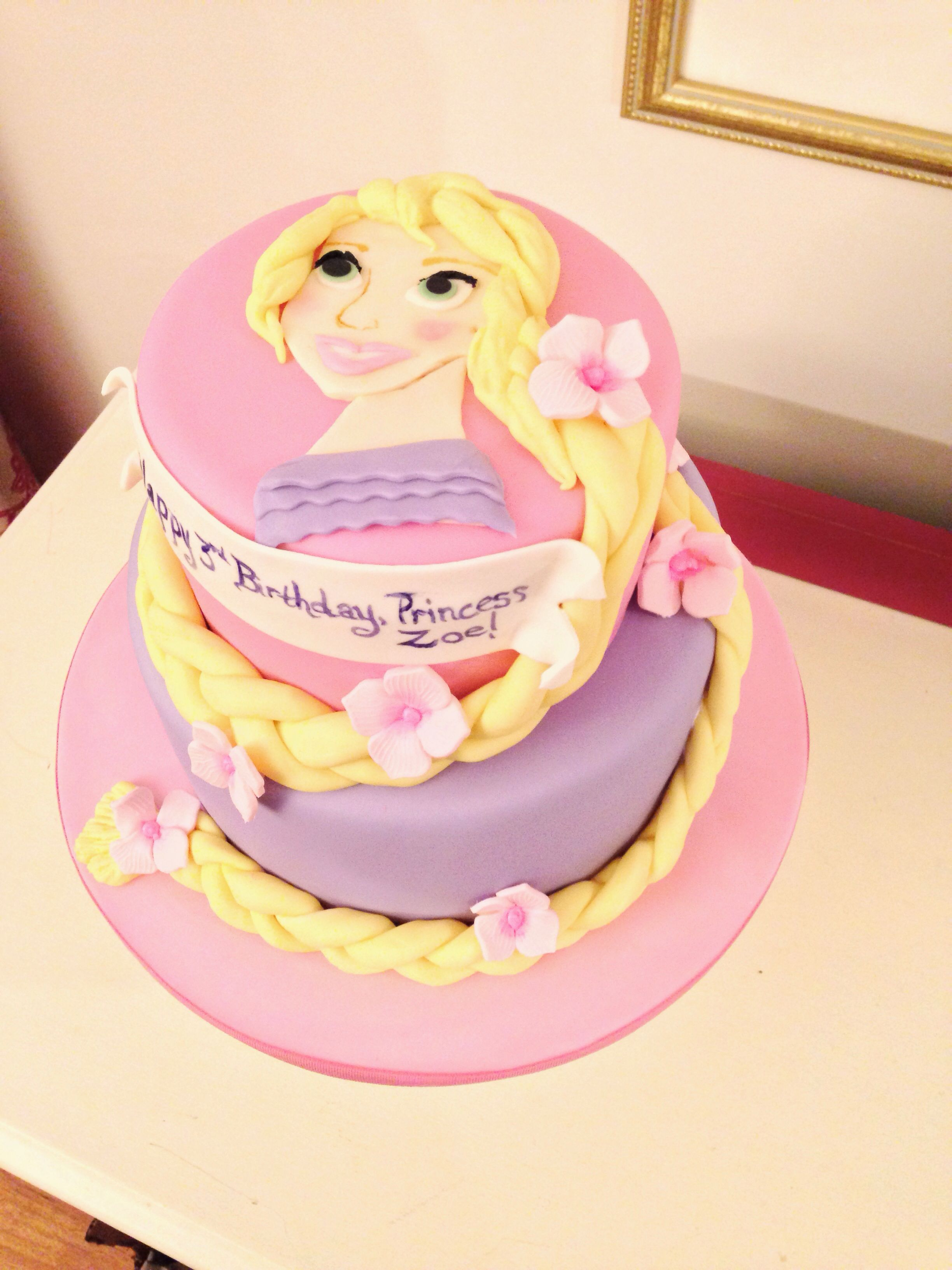 Rapunzel Tangeled Cake by Amy Hart