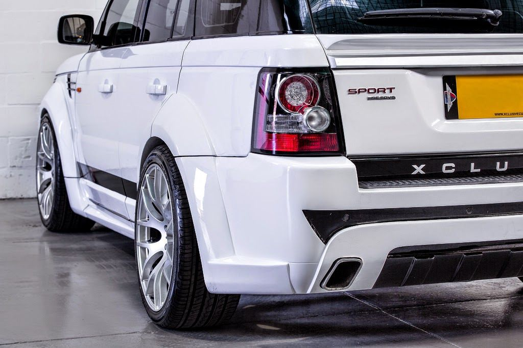 Range Rover Sport Wide Body Kit And Tuning Done By Xclusive Customz Sheffield Range Rover Wide Body Kits Range Rover Sport