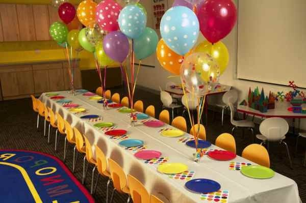 Wonderful Table Decorations For The Children\u0027s Birthday