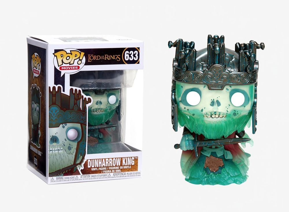 2018, Toy NUOVO Dunharrow King Lord Of The Rings // Hobbit Funko Pop Movie