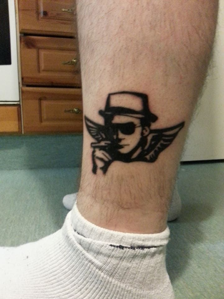 17 hunter s thompson tattoos that are absolutely gonzo