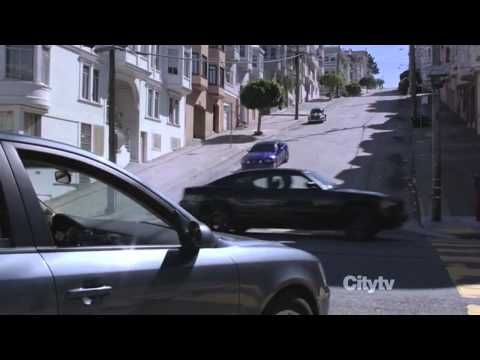 2013 Mustang and Charger chase scene alcatraz - YouTube