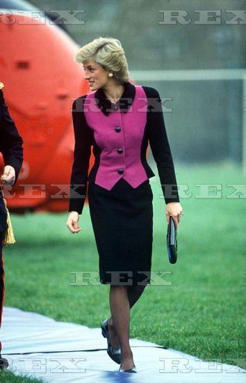 Princess Diana in Marston, Oxfordshire, Britain - 1989