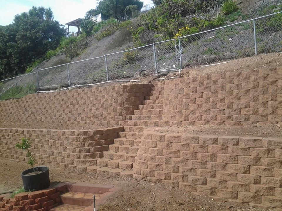 retaining walls san diego retaining wall contractors san on retaining wall blocks id=82918