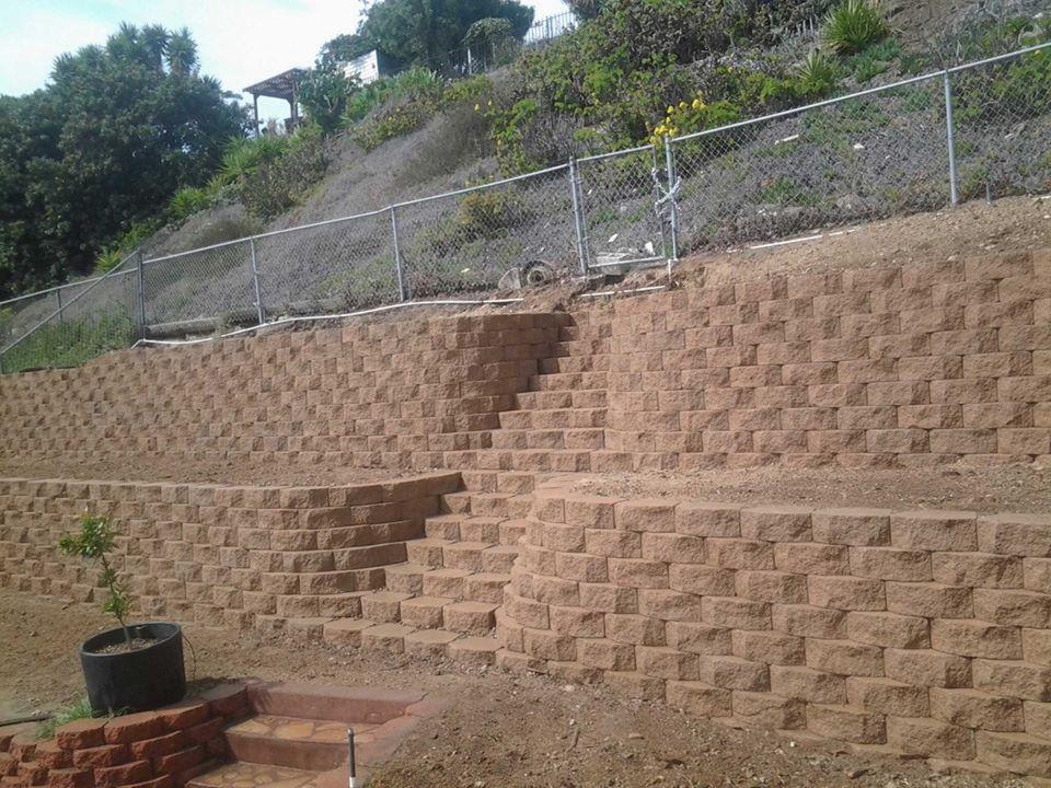 Retaining Walls San Diego Retaining Wall Contractors San Diego Pavers San Diego Backyard Retaining Walls Garden Retaining Wall Retaining Wall