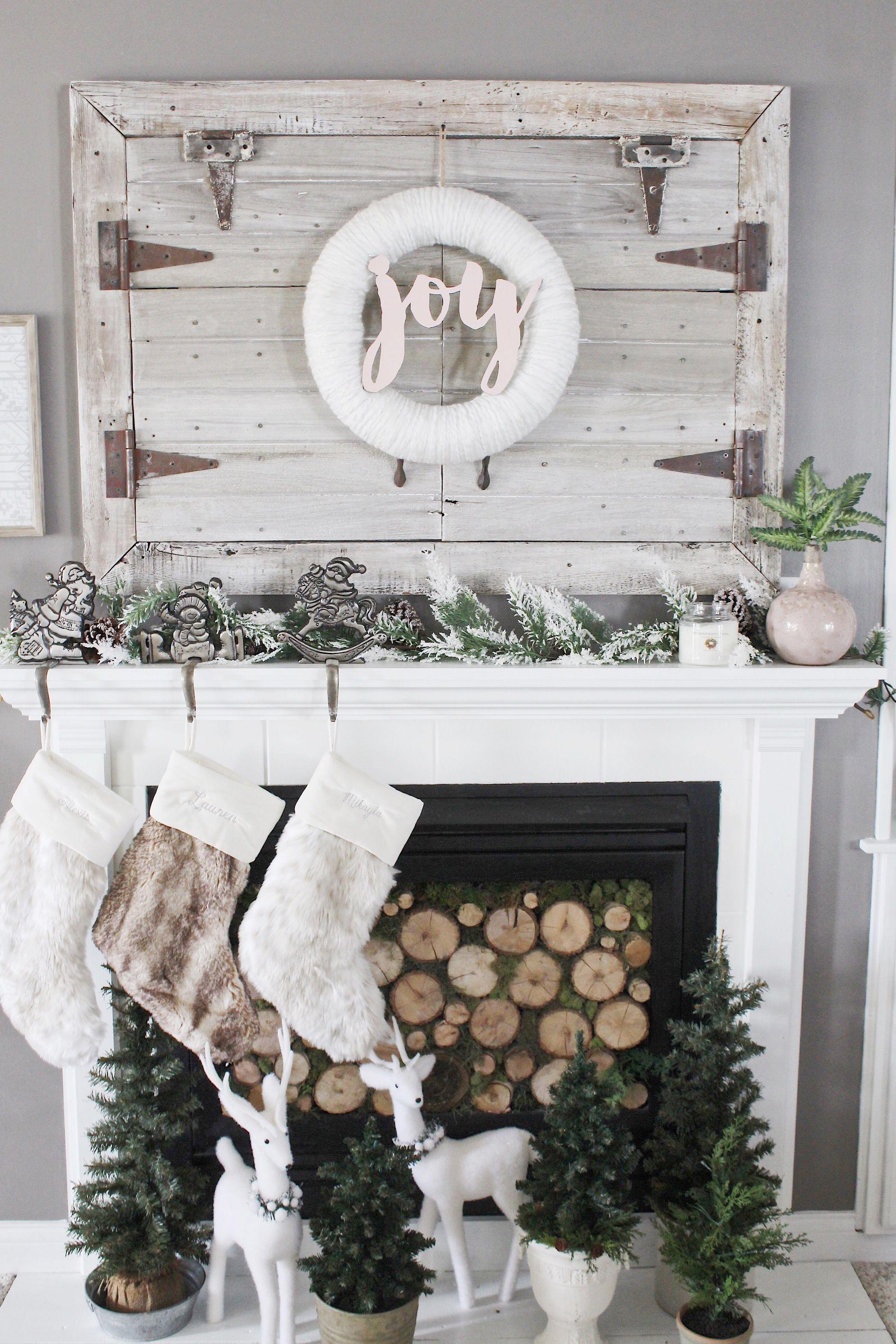 Prodigious Holiday Decorating Ideas For Mantels ...