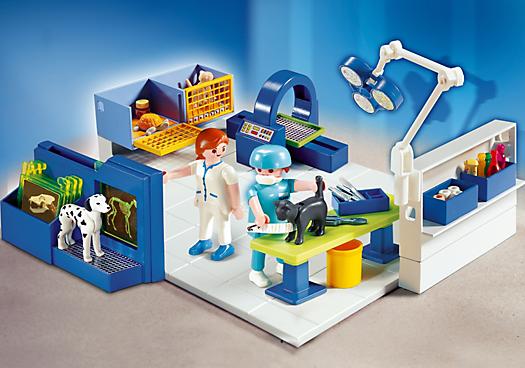 Vet Operating Room Pm Usa Playmobil Usa Playmobil Sets Pet Clinic Playmobil