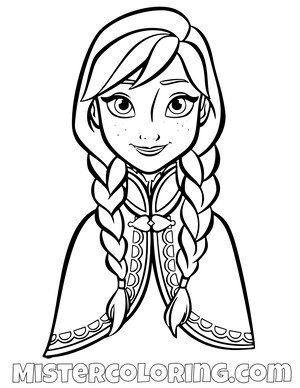 Princess Anna Posing For Picture Frozen 2 Coloring Pages For Kids In 2020 Disney Princess Coloring Pages Elsa Coloring Pages Disney Coloring Pages