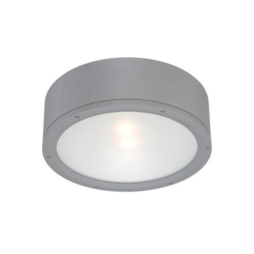 Wac Lighting Graphite One Light Led Outdoor Flush Mount