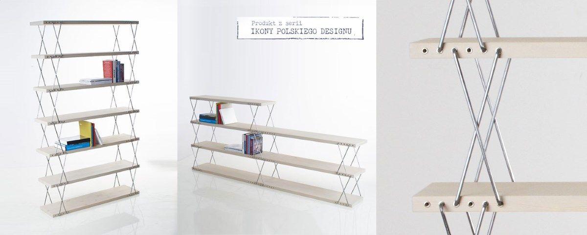 Regal O Zmiennych Wysokosciach Nowymodel Org Bookcase Design Industrial Chair Design Design