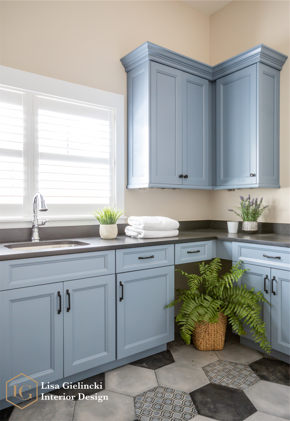 Beautiful Baby Blue Laundry Room Blue Laundry Rooms Blue Cabinets Laundry Room