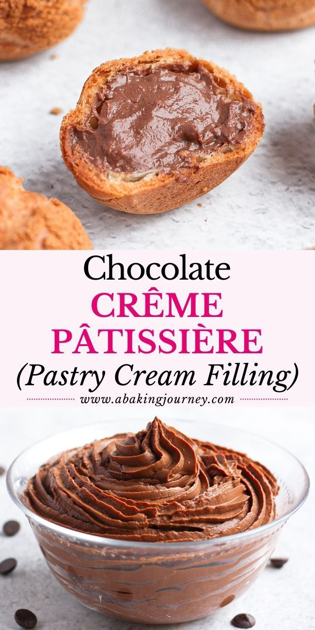 Photo of Chocolate Crème Pâtissière (Chocolate Pastry Cream Filling)