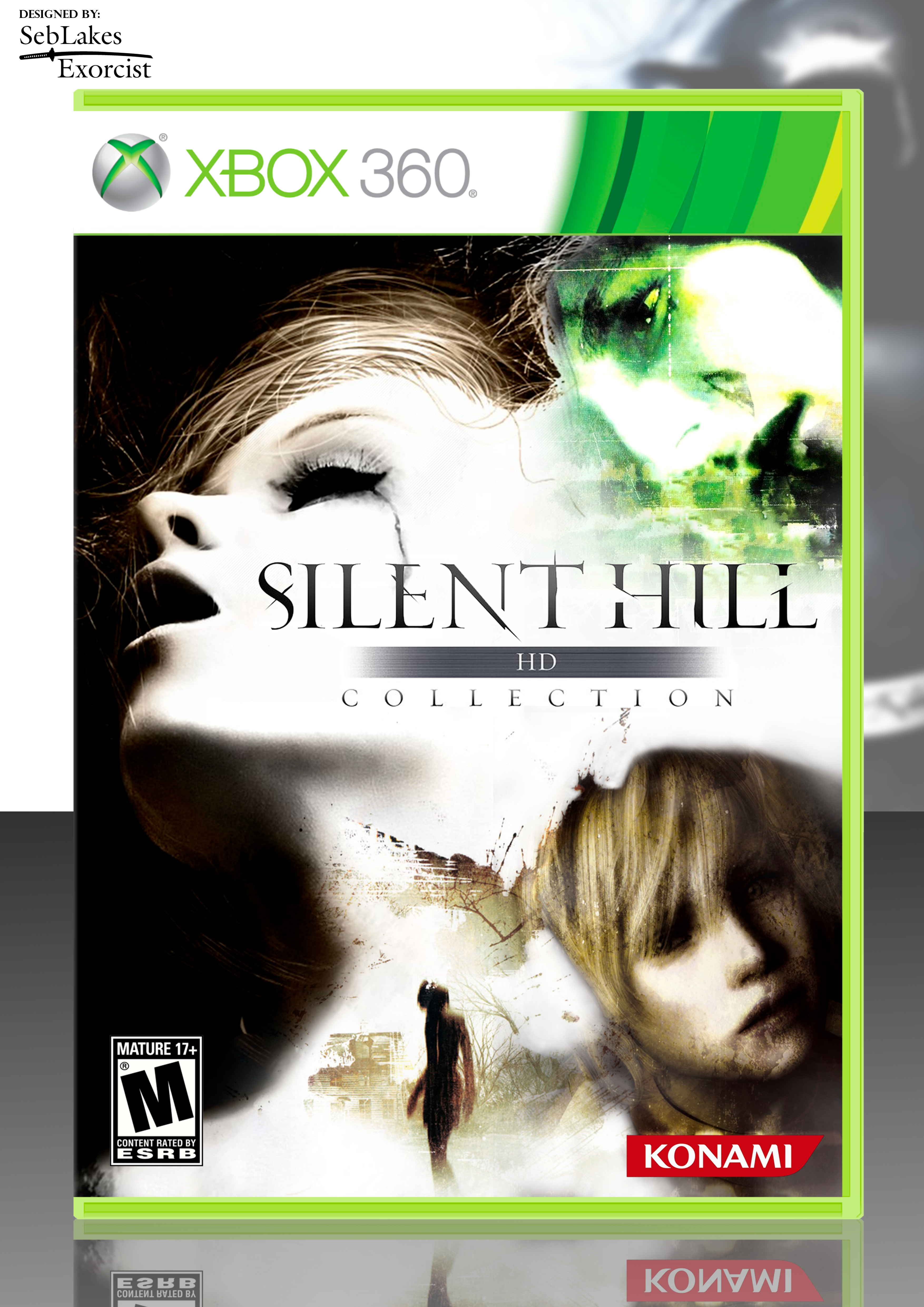 Silent Hill Hd Collection Cover Art By Seblakes Exorcist Box Art Silent Hill Art