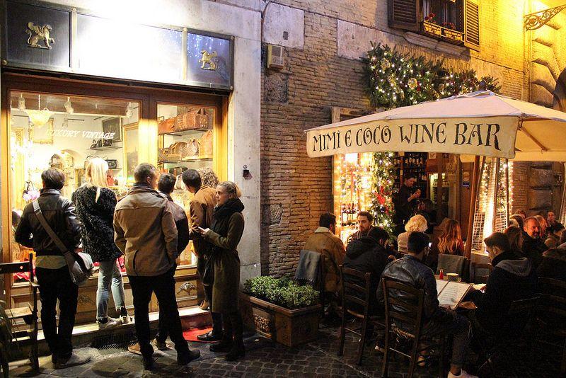 Mimi e coco wine bar, Rome /etdrysskanel