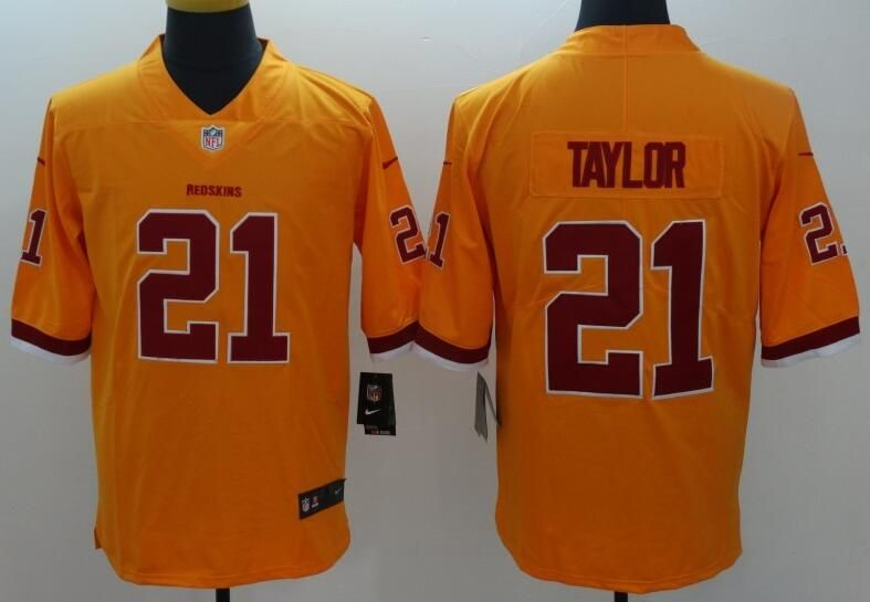 separation shoes 560d8 7a199 Washington Red Skins 21# Taylor Color Rush limited jersey ...