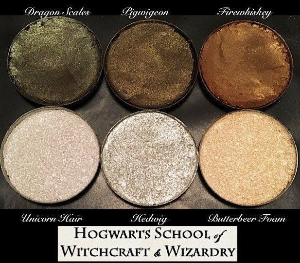 This Harry Potter highlighting palette is all kinds of magical